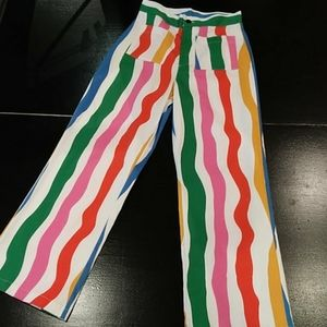 Nooworks Multi-Color Striped Pants